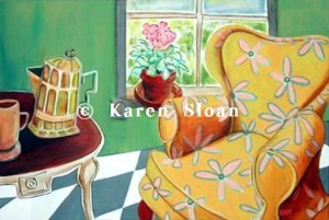 A chair with a view - Karen Sloan