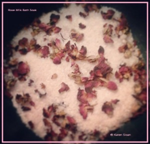 Rose Milk bath soak - Wall Flower Studio