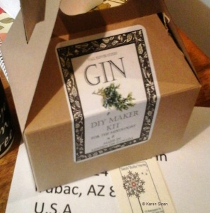 DIY Gin Kit at Wall Flower Studio