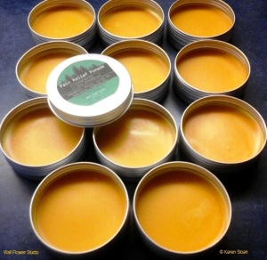 Pain Relief Pomade at Wall Flower Studio etsy